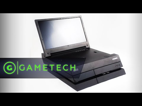 Hori hd monitor for playstation 4 hands on gametech for Playstation 5 portable