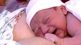 Роды. Как ребенок появляется на свет(Как проходят роды. Рассказы уже рожавших девушек. Первое прикосновение к малышу. Радость от появления малыш..., 2013-10-16T12:05:05.000Z)