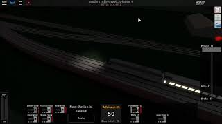 ROBLOX Rails Unlimited HST Run on the NEW Bypass Line