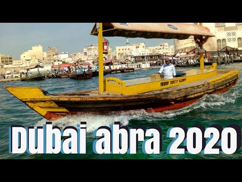 Travel vlog in Dubai part3: crossing the Dubai creek/ Abra