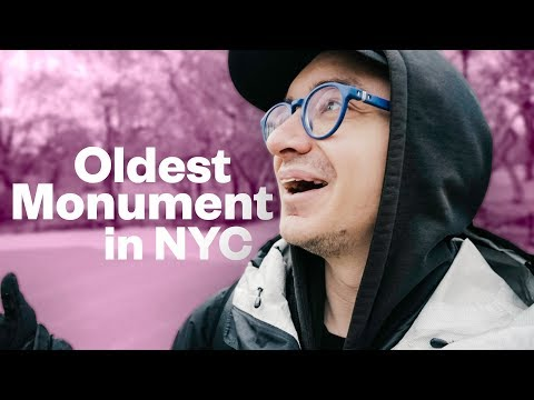 The oldest public monument in New York City!