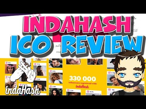 Indahash ICO Review - It might be gold for Influencers and companies