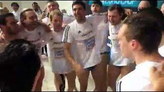 """Le """"Aux Armes """" des poloïstes marseillais champions d'Europe !"""