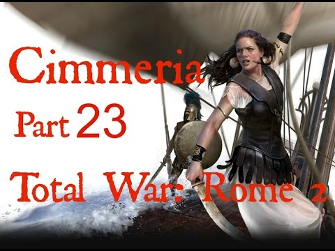 Total War Rome 2 Cimmeria Legendary difficulty Part 23 (On the verge of defeat) |
