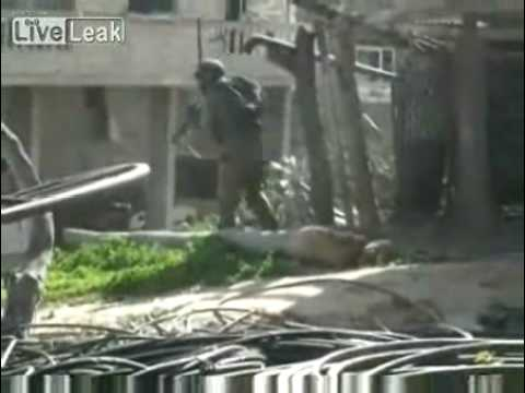 IDF Soldiers Fight Their Way Through Gaza's Streets 8/01/09