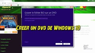 Créer un DVD Windows 10