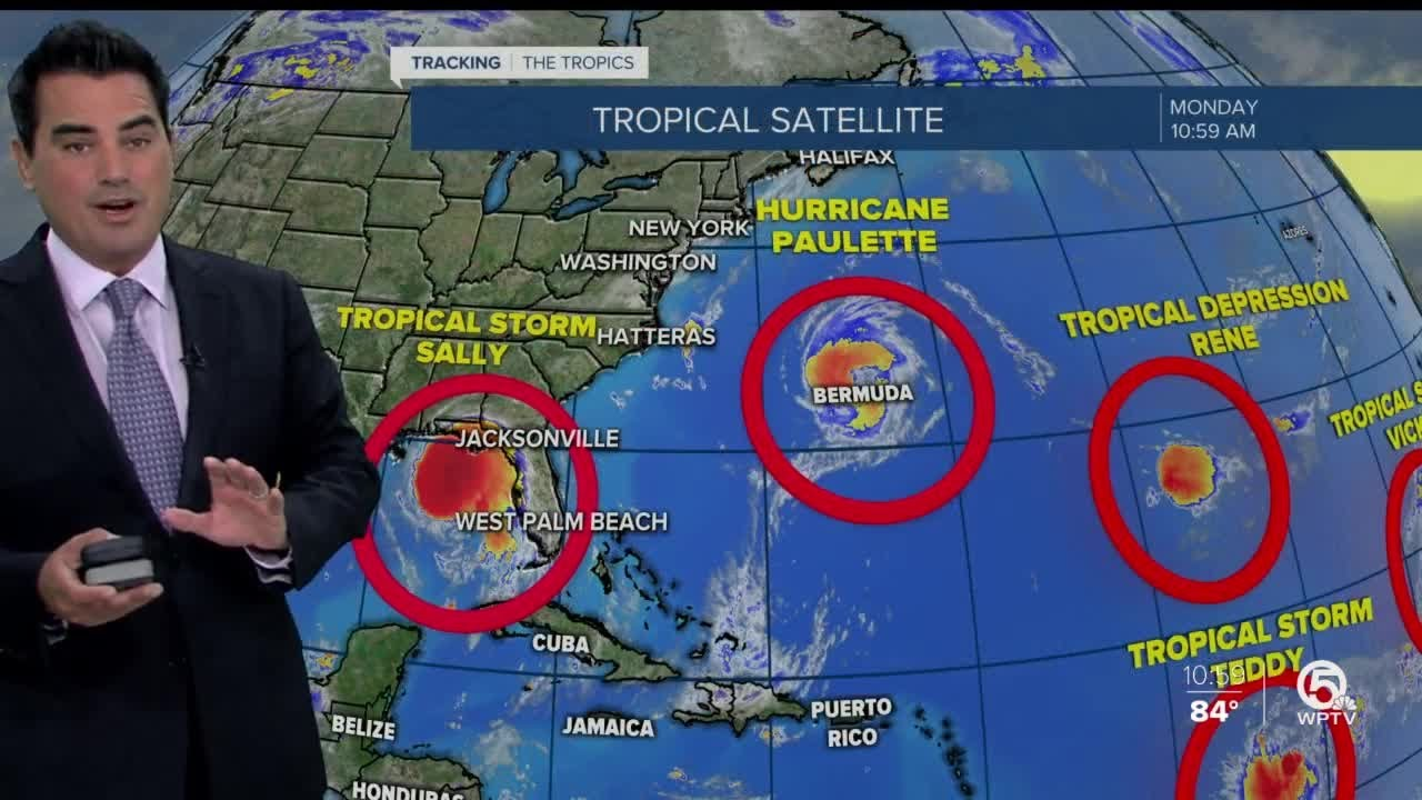 There are no tropical cyclones spinning over the Atlantic for the first ...