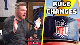 These NFL Rule Changes Would Make Everything Better!