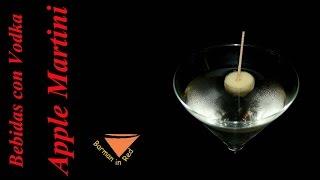 Como Preparar El Coctel Apple Martini