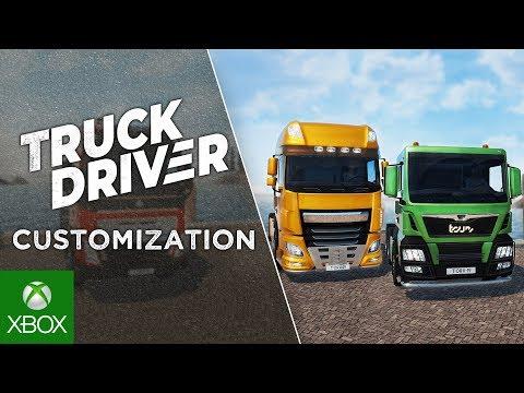 Truck Driver - Feature Showcase   Customization