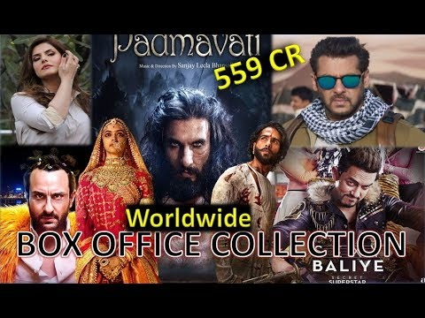 Box Office Collection Of Padmaavat, Tiger Zinda Hai, Secret Superstar Etc 2018