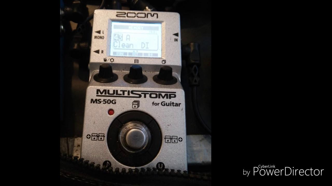 zoom ms 50g direct sound test youtube. Black Bedroom Furniture Sets. Home Design Ideas