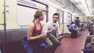 Шоу Вагон - Как делать присед в метро