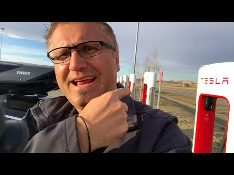 New Tesla Supercharger & Cold Batteries
