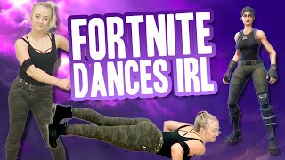 FORTNITE DANCES IN REAL LIFE CHALLENGE | Meghan McCarthy