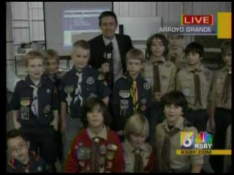 Pack 13 Pinewood Derby on KSBY