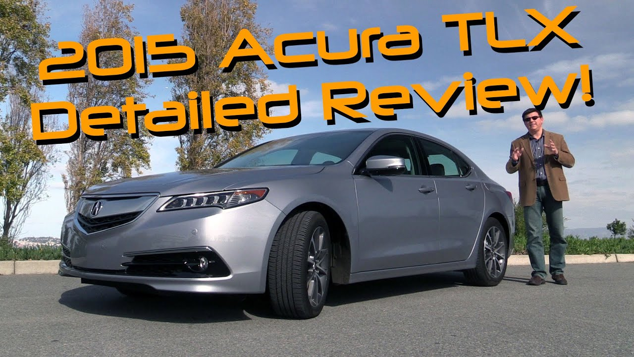 2015 Acura TLX Detailed Review and Road Test - YouTube on