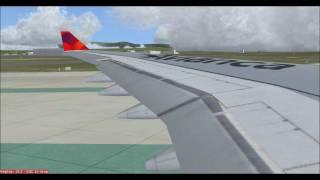 [FS2004 HD] Avianca A330-200 @ Madrid-Barajas, Spain (MAD/LEMD)