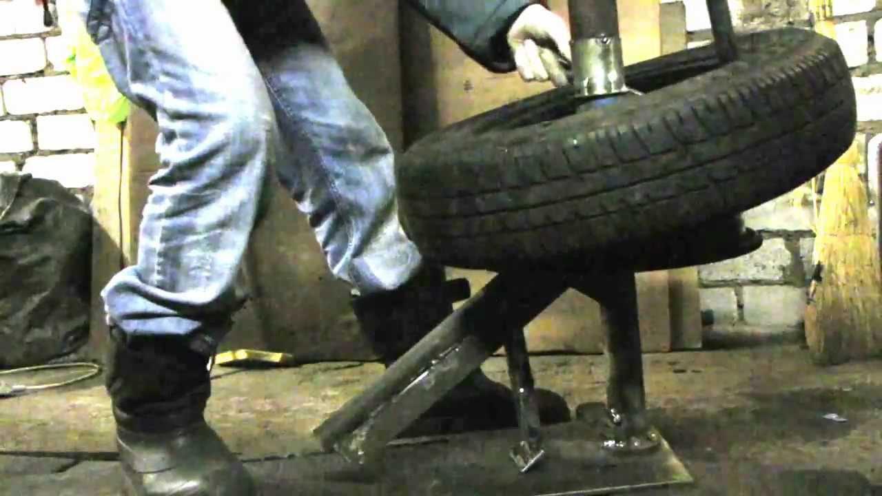 Бортировка колес своими руками приспособление