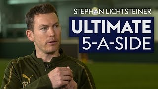 What was the young Paul Pogba like? | Stephan Lichtsteiner | Ultimate 5-A-Side