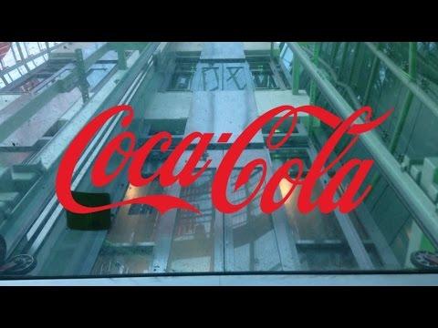 Looking Up The Coca-Cola Bottle Elevators-Las Vegas, NV