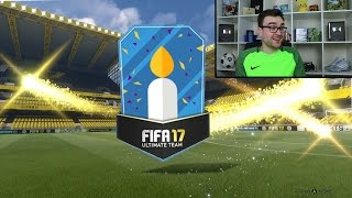 THREE IN THE FIRST PACK!!! TEN 100K PACKS!!! Fifa 17 Pack Opening