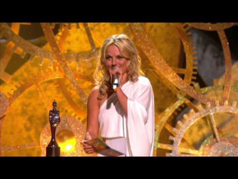 JLS win British Breakthrough presented by Geri Halliwell | BRIT Awards 2010