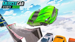 Muscle Car Stunt -  Mega Ramp Stunt Car Games 2020 (Mustard Games Studios) | Android Gameplay HD screenshot 5