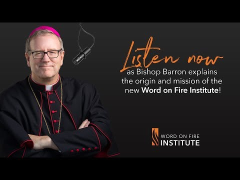 Interview on the Word on Fire Institute