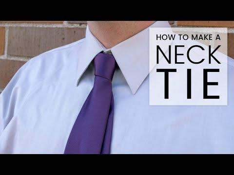a5bdf5ffbc3d How to Make a Necktie - YouTube