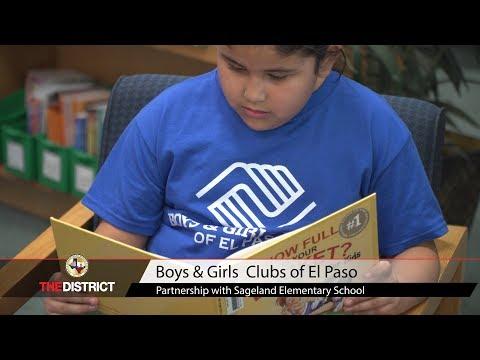 Boys & Girls Clubs of El Paso partnership with Sageland Elementary School