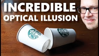 EASY Coffee Cup Magic Trick REVEALED! (Learn the Secret Now!)