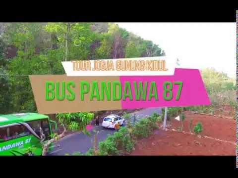 super-keren-bus-pandawa-87-konvoi-tour-jogja-gunung-kidul-by-drone-dji-|-wisata-jogja-istimewah