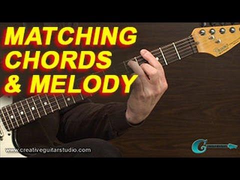RHYTHM GUITAR: Matching Chords to Melodies