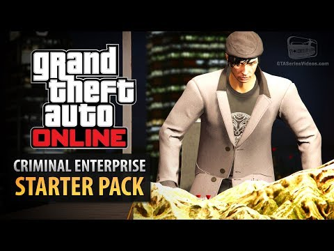 GTA Online: Criminal Enterprise Starter Pack - All Content S