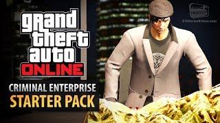GTA Online: Criminal Enterprise Starter Pack - All Content Showcase thumbnail