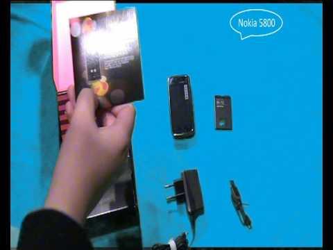 Nokia 5800 Unboxing
