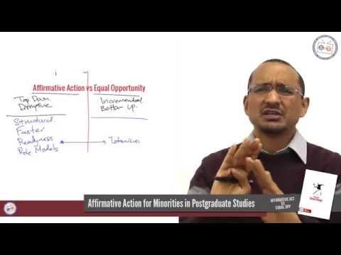 #DebateSocialChange : Week 1 : Affirmative Action vs Equal Opportunity
