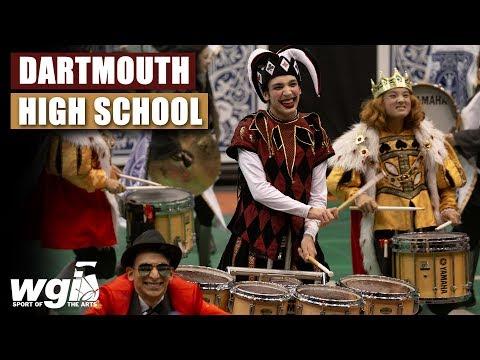 WGI 2019: Dartmouth High School - IN THE LOT