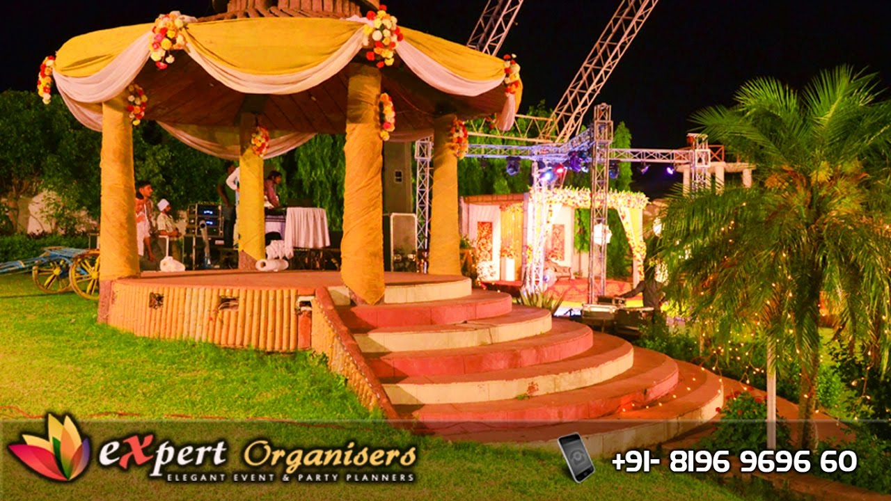 expert wedding planners chandigarh | tent decoration | catering