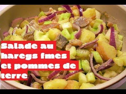 recette-:-salade-aux-harengs-fumés-et-pommes-de-terre-[recette-express]