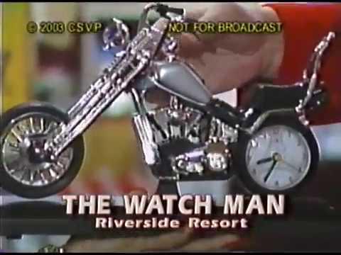 The Watch Man, World's Largest Watch Store, Riverside Resort, Laughlin, NV 30-Min. 2003 Infomercial