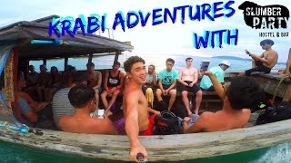 Krabi Adventures with Slumber Party | Traveling with Eric