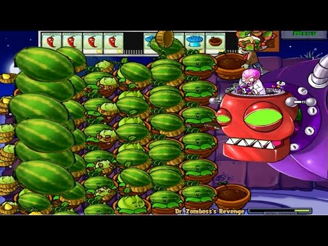 Dr.Zomboss vs Plants Big Time mod plants vs zombies
