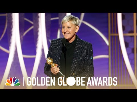Ellen DeGeneres Honored: Achievement In Television - Golden Globes