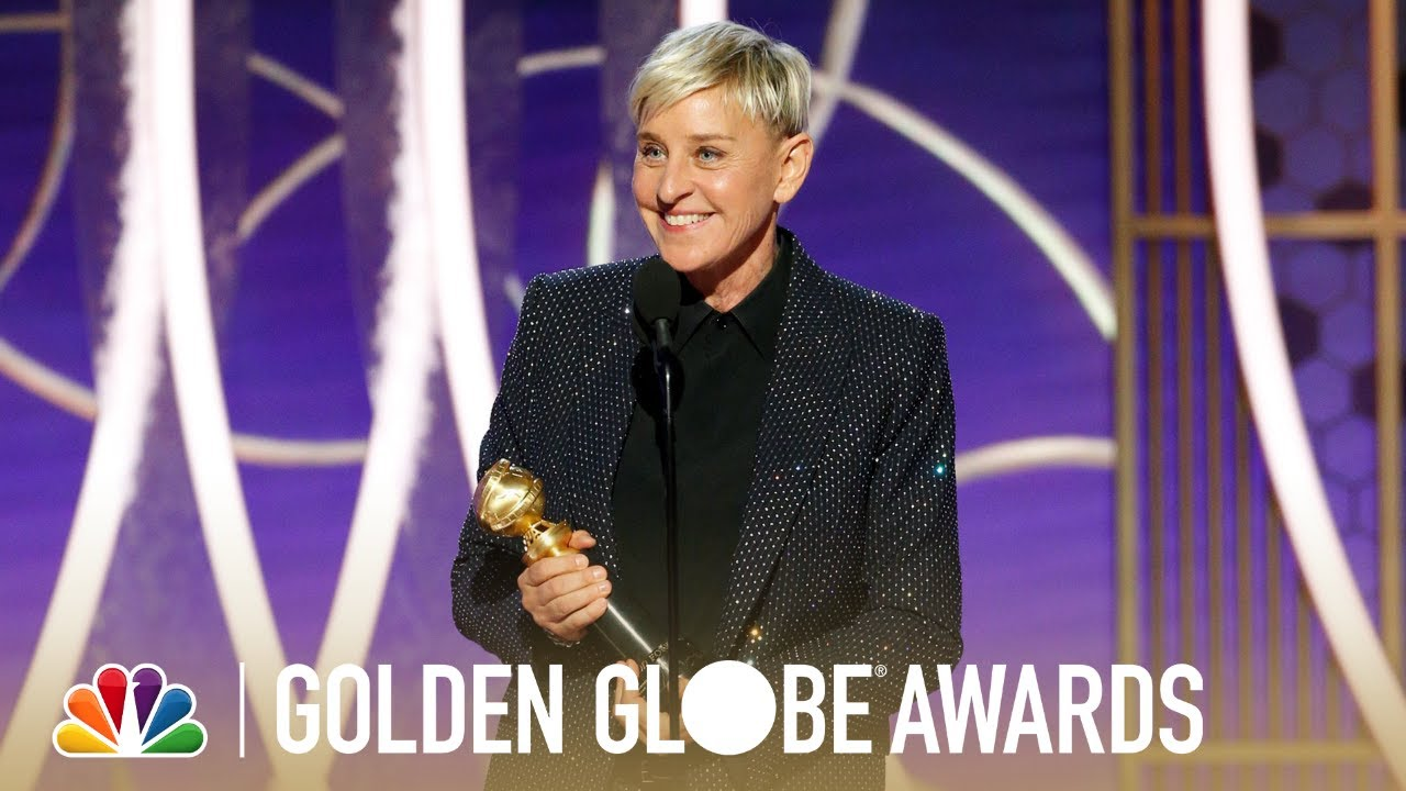 Image result for ellen golden globes 2020