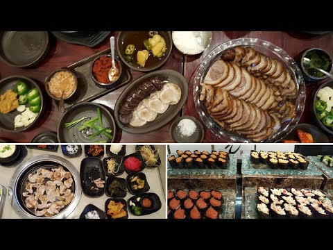 워싱턴 DC, Northern VA Asian Restaurants #2 바비큐, 수시 부페 / All You Can Eat BBQ, Sushi Buffet