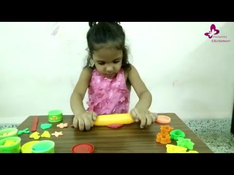 Thumbnail: Mishali, 4 year little kid and her clay modelling.