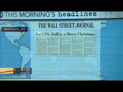Headlines at 7:30: 98 percent delivery rate for Christmas Eve express packages
