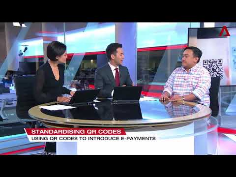 Interview on Singapore Unified QR code payment on Channel News Asia